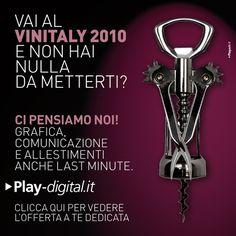 PLAYDIGITAL advertising #adv #brandidentity #marketing #creative #playadv #wine #vinitaly #lastminute #design