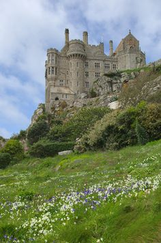 wanderthewood: St. Michael's Mount, Cornwall, England by Andrew-Holloway on Flickr