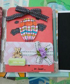 Details Diy mini scrapbook