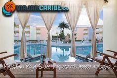 Diseñado y operado exclusivamente para adultos, The Royal Suites Turquesa by Palladium en Punta Cana ofrece a sus huéspedes lo mejor de dos mundos: la privacidad y la atención personalizada de un pequeño resort VIP y el acceso ilimitado a la extensa variedad de los servicios disponibles en los tres resorts que componen el complejo turístico de cinco estrellas: