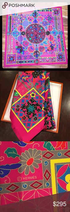 Hermes Collections Imperiales Scarf NWT Hermes Collections Imperiales Scarf NWT. Tag attached (both care tag and tag from the store). 90cm x 90 cm. Comes with box. This scarf was inspired by the art of the Ming Dynasty. Hermes Accessories Scarves & Wraps