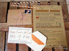 Vinca Design, rustic wedding, wedding invitation suite, wedding stationery, info card // rusztikus esküvő, esküvői meghívó, útmutató Design, Design Comics