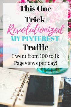 Mastering Pinterest was difficult for me. I couldn't believe it when this trick got me my first viral pin. I kept checking my analytics in disbelief, as my visits increased before my eyes.