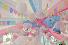 Janna's Kokeshi Doll Themed Party – Ceiling