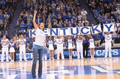 University of Kentucky |   Kentucky Men's Basketball has 8 National Titles, 15 Final Fours, 7 First Round Draft Picks in the last two seasons, and 3 No. 1 Recruiting Classes... Not to shabby :)
