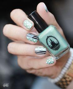 Diseño de uñas, nails style, nails design, fashion chicas, moda, uñas www.PiensaenChic.com