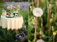 dandelion as the centerpiece