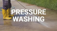 Take the next step to beautifying your property and improving your image with our high pressure and power washing services. Remove years of gum, grime, oil, grease, gunk and additional undesirable build-up on your sidewalks, walkways, ramps, buildings and entries. CSGConSvcGrp team of commercial pressure washing experts can restore almost every type of surface including:  * Concrete  * Pavement  * Brick  * Wood   #PressureWashing #PropertyMaintenance Pavement Bricks, Pressure Washing Services, Brick And Wood, Sidewalks, Walkways, Grease, Restore, Improve Yourself, Concrete