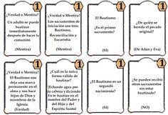 Juego los siete sacramentos.preguntas bautismo 2 La samaritana, juegos de nueva evangelizacion