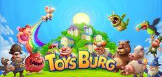 Toysburg – crea la tua città dei giocattoli su iOS e Android :)