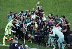 포르투갈, 웨일스 꺾고 유로 결승행