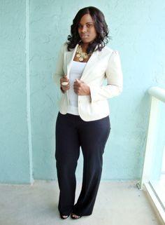 Khaki+jacket,+statement+necklace,+office+outfit.JPG 1,175×1,600 pixels