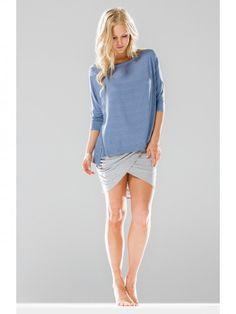 Drapey Skirt Heather Gray
