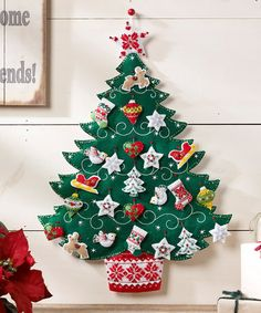 Love this Nordic Tree Advent Calendar Kit on #zulily! #zulilyfinds