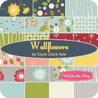 Poppy Wallflowers Fat Quarter Bundle Cluck Cluck Sew for Windham Fabrics - Fat Quarter Shop