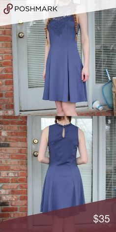 Dress Lavender purplish blue, this dress is perfect for any formal event. Brand: Purchased at Francesca's Francesca's Collections Dresses