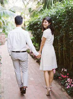 Santa Barbara California, Engagements, Engagement Photography, White Dress, Film, Beautiful, Dresses, Fashion, Movie