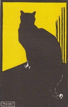 Minette la noire. Bois originaux de M. Callet Carcano, 1941.