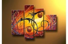 cuadros para decorar casa fabulosos Mural Wall Art, Diy Wall Art, Diy Art, Canvas Wall Art, Abstract Oil, Abstract Wall Art, Art Room Posters, African Art Paintings, Smart Art