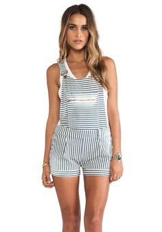 9c68b0d80ce Shop for Capulet Overall Short in Railroad Stripe at REVOLVE. Free day  shipping and returns