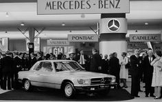 Mercedes-Benz SLC (C107).