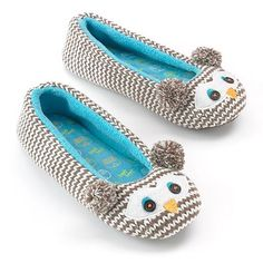 Owl Ballerina Slippers #Owl #Ballerina #Slippers #shoes