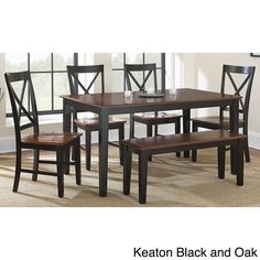 OUR NEW KITCHEN TABLE :)  Ordered! Keaton Dining Sets - Overstock™ Shopping - Big Discounts on Dining Sets