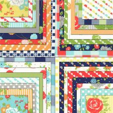 HAPPY GO LUCKY Charm Pack by Bonnie & Camille for Moda Fabrics