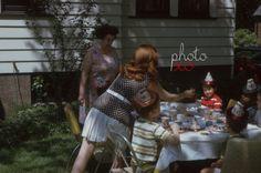New to photoxo: Birthday party 1970