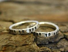 """""""Born to run"""" rings by Nana Smith. #accessories #ring"""
