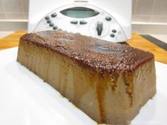 Pudin con Thermomix Thermomix Desserts, Flan, Sin Gluten, Tiramisu, French Toast, Cheesecake, Curry, Sweets, Cooking