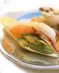 Endive Spears with Lobster, Avocado, and Grapefruit Recipe