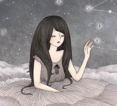 Illustrations 2010/2011- Those Stars In My Eyes by Yee Von Chan, via Behance