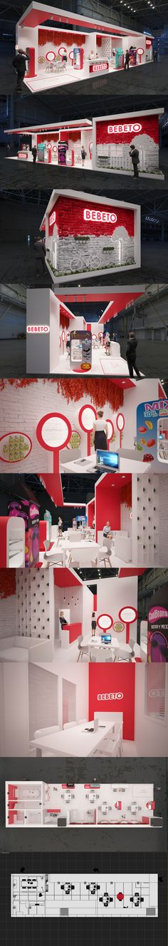 Exhibition Stand Design, Exhibition Booth, Display Design, Kiosk, Gallery, Projects, Behance, Big, Check