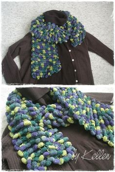 simple knitting and a unique yarn
