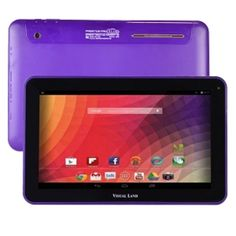 Visual Land Prestige Pro Cortex A9 Dual-Core 1.6GHz 1GB 16GB 10 Capacitive Tablet Android 4.1 w-Dual Cams (Purple) - B