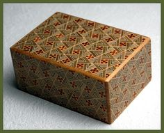 4 Sun 21 Step Japanese Puzzle Box - Kirichigai $72.95