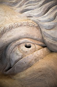 sand in my eye...    north american sand sculpting championship