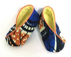 african wax print baby shoes.