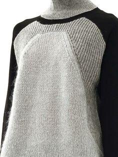 Suéter Helmut Lang-Cuello alto con textura