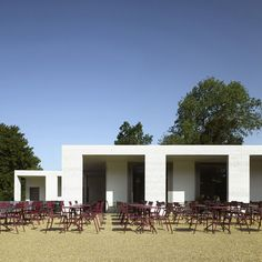 Chiswick House Gardens cafe by British architects Caruso Sj John.