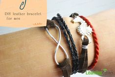 How to Make Multi-stranded Leather Bracelets for Men with Simple Steps - Pandahall.com