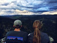 mileformile:  Lost Gulch Lookout with Sarah.Instagram: colefolken