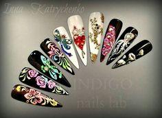 Indigo nails lab Made dy Me