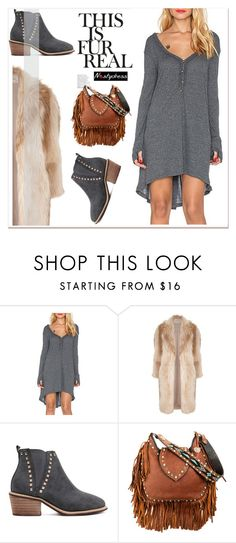 """winter boho"" by paculi ❤ liked on Polyvore featuring мода, River Island и nastydress"