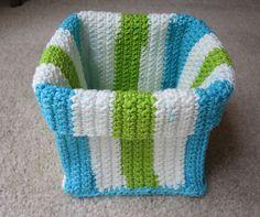 neceser hecho en crochet