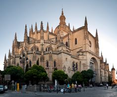 Segovia cathedral, Spain---my picture is better:)