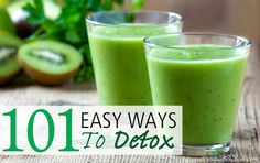 A list of 101 detox tips to boost your immune system, lift your energy levels and improve your overall health and vitality.