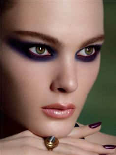 DESERT ROSE  FALL2012. I'm intrigued by the red waterline. it pops beautifully against the purple.