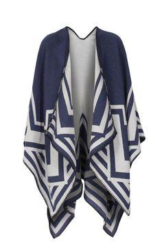 sara martignoni Cape PONCHO AZTEKE bei myClassico Online Shop für TOP-Fashion